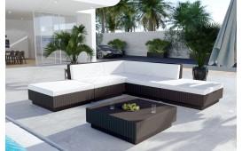 Set Lounge in rattan CORALE giardino (6 pezzi) V2
