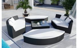 Set Lounge in rattan FELIX giardino (6 pezzi) V1-NATIVO™️ Möbel Schweiz