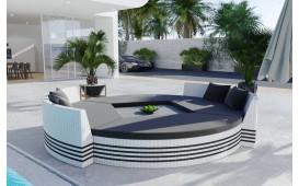 Rattan Lounge Garten Insel FELIX (6.tlg.) - v1-NATIVO™️ Möbel Schweiz