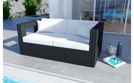 Salon Lounge en rotin GROOVE jardin (5 pièces) V1-NATIVO™️ Möbel Schweiz