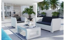 Rattan Lounge HARMONY Bartischsatz v1-NATIVO™️ Möbel Schweiz