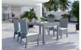 Set da pranzo Lounge in rattan VICITA giardino (7 pezzi) V1-NATIVO™️ Möbel Schweiz