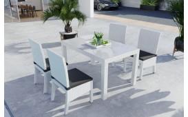 Set da pranzo Lounge in rattan VICITA giardino (7 pezzi) V2-NATIVO™️ Möbel Schweiz