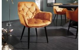 2 x Chaise design SLIM YELLOW