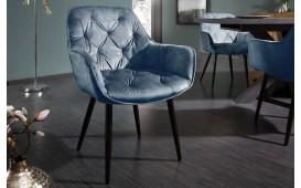 2 x Chaise design SLIM PETROL-NATIVO™️ Möbel Schweiz