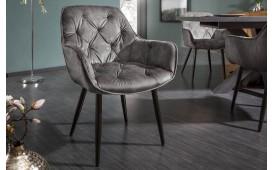 2 x Chaise design SLIM GREY-NATIVO™️ Möbel Schweiz