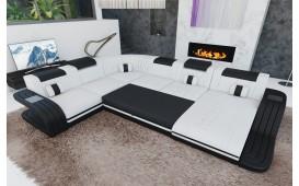 Canapé Design ROYAL XXL avec éclairage LED & un port USB-NATIVO™️ Möbel Schweiz