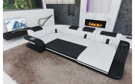 Canapé Design ROYAL XL avec éclairage LED et port USB-NATIVO™️ Möbel Schweiz