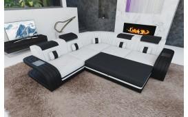 Canapé Design ROYAL CORNER avec éclairage LED et port USB-NATIVO™️ Möbel Schweiz