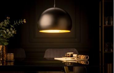 Designer Hängeleuchte GLOBE BLACK 30 cm-NATIVO™️ Möbel Schweiz