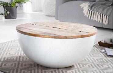 Table basse Design PABLO WHITE-NATIVO™️ Möbel Schweiz