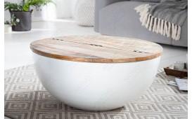 Designer Couchtisch PABLO WHITE I