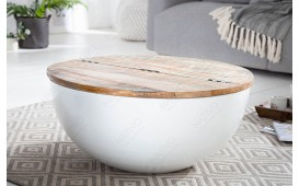 Tavolino di design PABLO WHITE I