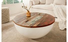 Tavolino di design PABLO WHITE II