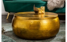 Table basse Design AMELLIA GOLD