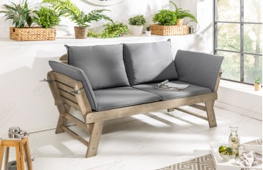 Designer Polsterbank GIARDINO GREY-NATIVO™️ Möbel Schweiz
