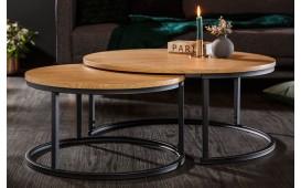 Table basse Design CALEB 2er SET-NATIVO™ Möbel Schweiz