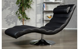 Fauteuil Relax LUXO BLACK