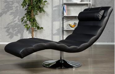 Relaxsessel luxo black designer bei nativo m bel schweiz for Relax stoel