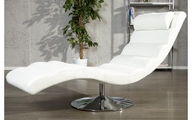 Fauteuil Relax LUXO WHITE