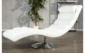 Poltrona Relax LUXO WHITE