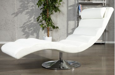 Designer Relaxsessel LUXO WHITE