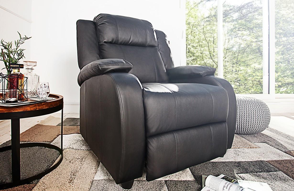 Poltrone letto americana black nativo mobili a rate svizzera - Poltrona relax design ...