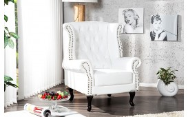 Designer Relaxsessel CHATER WHITE