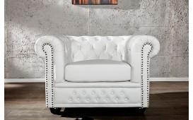 Designer Relaxsessel CHESTERFIELD WHITE