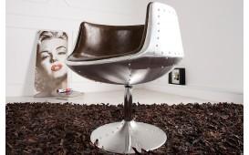 Designer Lounge Sessel JUVENTAS ALU
