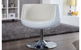 Designer Lounge Sessel JUVENTAS WHITE