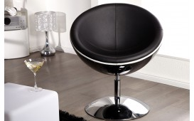 Designer Lounge Sessel GALAXIS BLACK
