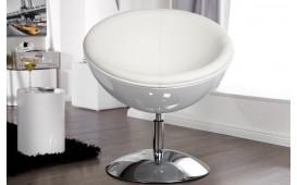 Designer Lounge Sessel GALAXIS WHITE