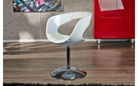Designer Lounge Sessel DACER WHITE