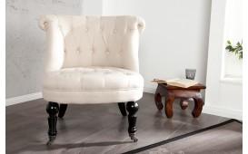 Designer Lounge Sessel JOSEPH BEIGE