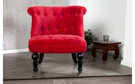 Designer Lounge Sessel JOSEPH RED