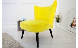 Designer Lounge Sessel RECENT YELLOW