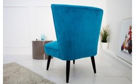 Designer Lounge Sessel RECENT BLUE