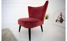 Designer Lounge Sessel RECENT RED