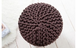 Tabouret Design KNITTED COFFEE