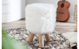 Tabouret Design FARM WHITE