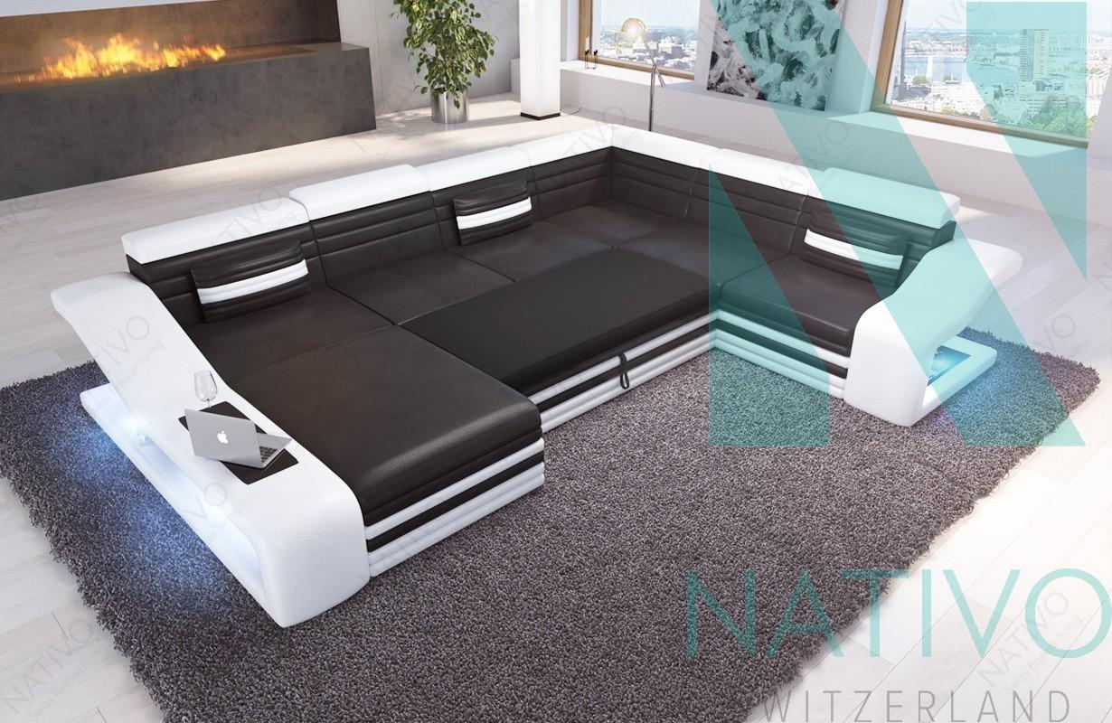 Divano per il soggiorno mirage xxl nativo mobili zurigo