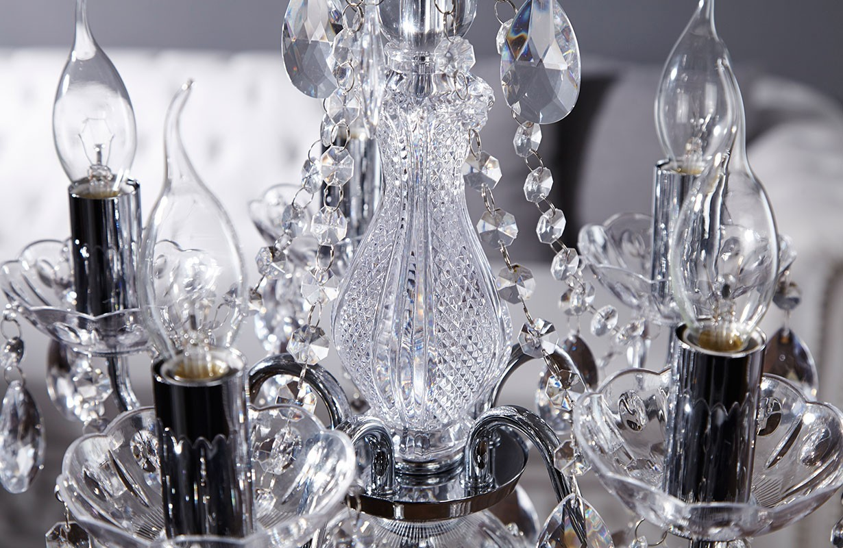 Lampadari svizzera sky silver nativo accessori e illuminazione for Accessori lampadari