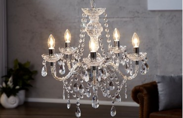 Lampadari svizzera classico s clear nativo accessori e for Accessori lampadari