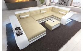 Designer Sofa MIRAGE XL mit LED Beleuchtung