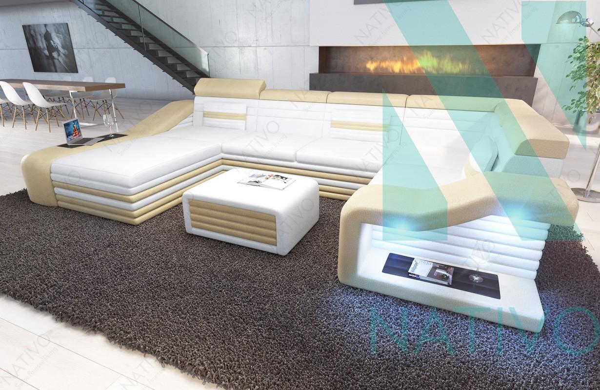modernes ledersofa mirage xl bei nativo m bel schweiz g nstig kaufen. Black Bedroom Furniture Sets. Home Design Ideas
