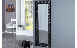 Specchio di design DIAMODE BLACK