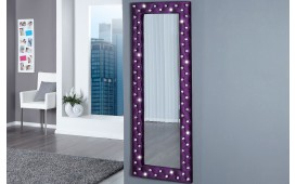 Designer Spiegel DIAMADE PURPLE