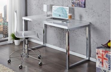 Designer Schreibtisch SIMPLA WHITE L