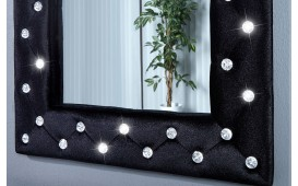 Designer Spiegel DIAMONDE BLACK von NATIVO in der Schweiz